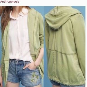Anthropologie Postmark Anorak Hooded Jacket